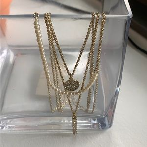 Ann Taylor layered necklace